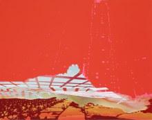 "Terraform Complex 22"" x 28"" acrylic on panel2010"