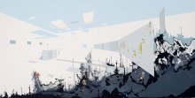 "Mixed Use 2		33"" x 65""		acrylic on panel	2010"