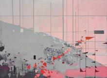 Threshold Bloom 2016 Acrylic on panel 28 x 38 in